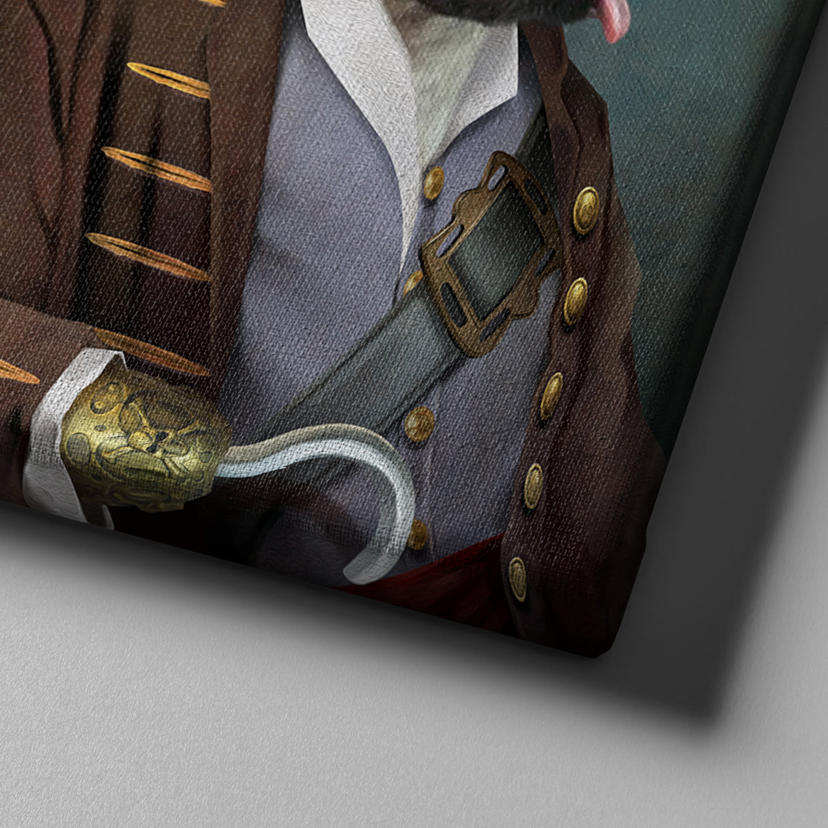 Pirate Custom Pet Portrait - Pet Portraits