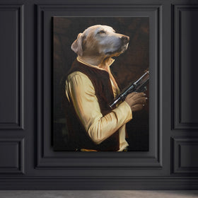 The Smuggler - Custom Pet Portraits