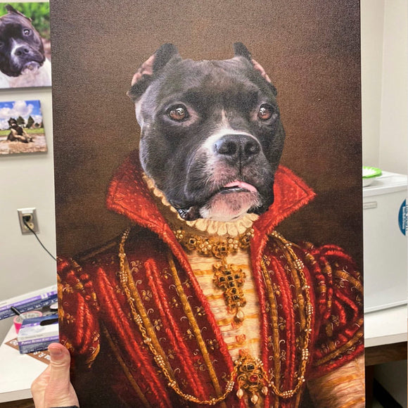 The Baroness Custom Pet Portrait - Pet Portraits