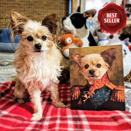 The Duke Custom Pet Canvas