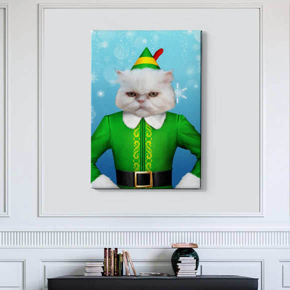 The Elf Custom Pet Portrait - Pet Portraits