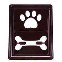 Load image into Gallery viewer, Bone Handprint Plastic Pet Dog Cat Door Gate for Small Dog Kitten Window Screen Safe Flap Gate Pet Dog Accessories