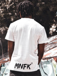 T-shirt BCKDWN White - Magnifake Paris