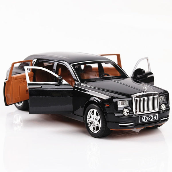 1:24 Rolls Royce Cullinan Alloy Car Model Simulation SUV Metal Cars Model Light Sound Pull Back Scale Car Miniatur Car HC0004