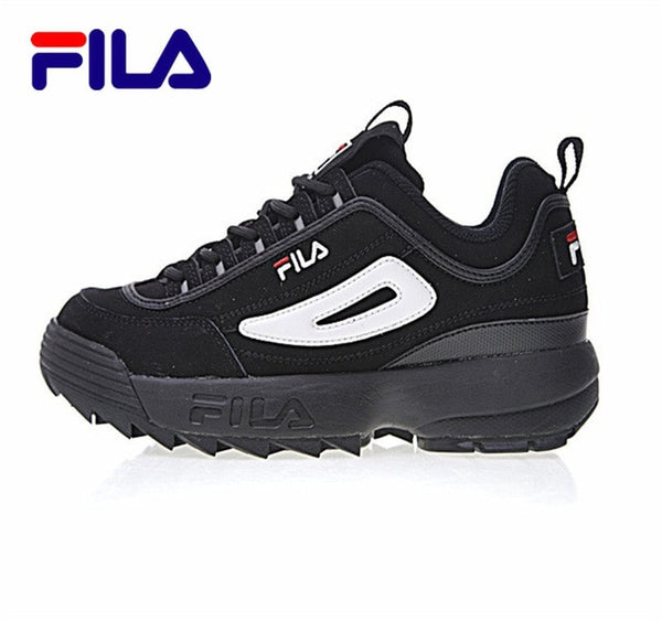 2017 FILA Disruptor 2 Sneakers Cushioning Women Running Shoes Breathable Wave Sports Shoes for new 4 colors size 36 41