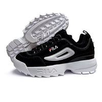 2019 FILAS Disruptor II 2 Men and Women Sneaker Running Shoes White summer Increased Outdoor Sneaker size 36-44