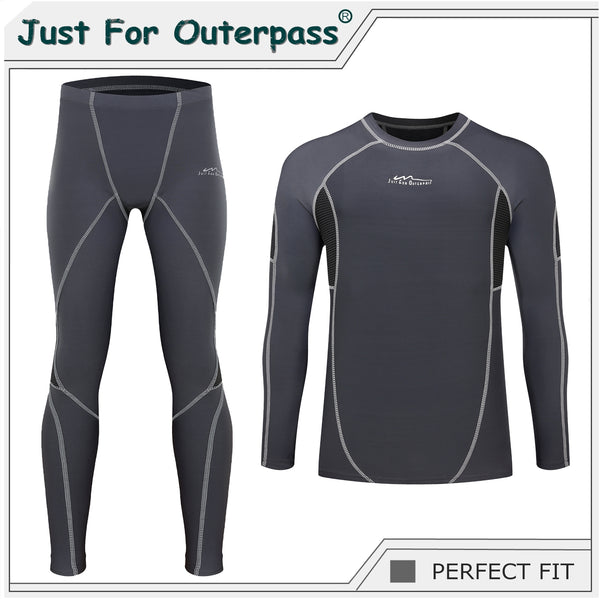 2019 New Autumn Winter Thermal Underwear For Men Quick Dry Elastic Compression Warm Long Johns Male Casual Thermo Underwear Set