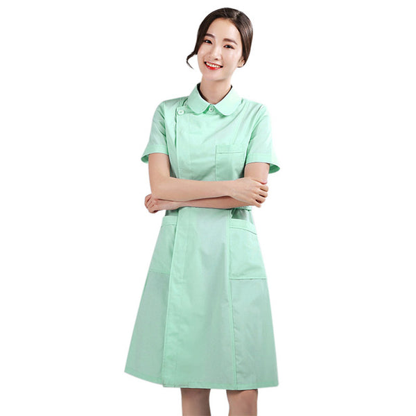 2020 Medical Overalls Nurse Uniform Scrubs Surgical Isolation Gown Women Lab Coats Isolation Suit Coveralls Medical Clothing