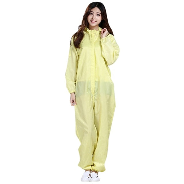 2020 Medical Uniforms Isolation Suit Women Protective Clothing for Medical Anti-dust Isolation Suit Hooded Coverall Gown