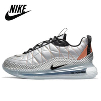 2020 NEW AirMax 720 Men Sneakers Original Nike Air Max 720 818 Metallic Silver Men's Running Shoes CU3013-070