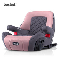 3-12 Years Old Portable Baby Infant Car Seat ISOFIX Interface Booster Seat for Baby Child Booster Pad Travel Car Safety Seat