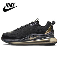 Authentic Original Nike Air Max 720 818 Black Men's Running Shoes AirMax 720 Men Sneakers CU3013-070