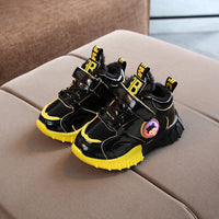 Children's Shoes 2020 Autumn Winter Children Warm Light Sports Shoes Men and Women Casual Plus Velvet Shoes Baby Toddler Shoes
