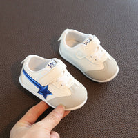 Children's Sports Shoes 2020 Spring and Autumn New Baby White Shoes 1 Year Old Boys and Girls Baby Soft Bottom Toddler Shoes