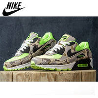 Comfortable Sport Outdoor NIKE AIR MAX 90 Men's Running Shoes Original Camouflage Sneakers Unisex Men Max90 Footwear