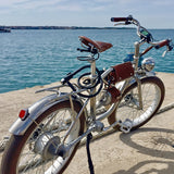 Electric bike  500W Electric Fat Bike Beach Retro Bike Cruiser Electric Bicycle  Retro Electric Bike Classic Vintage electric