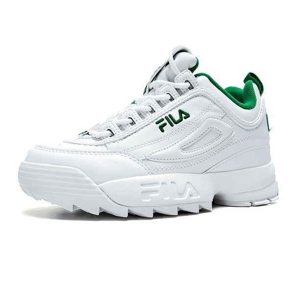 FILA Disruptor 2 Sneakers Men Cushioning Running Shoes Breathable Wave Fila Women Sports Shoes size 36-44