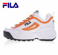 FILA Disruptor II 2 Running Shoes Summer Sport Shoes Men Breathable Zapatillas Women Increased Sneakers size 36-44 Black White