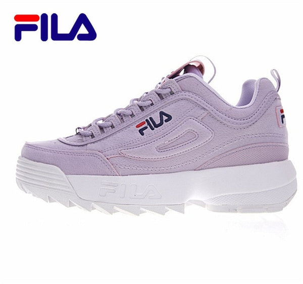 FILA Disruptor II 2 Running Shoes Summer Sport Shoes Women Breathable Zapatillas Women Increased Sneakers