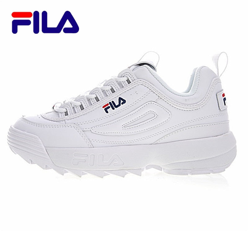 FILA Disruptor II 2 generations large serrated thick raised shoes Women Running Shoes 2 colors size 36 41