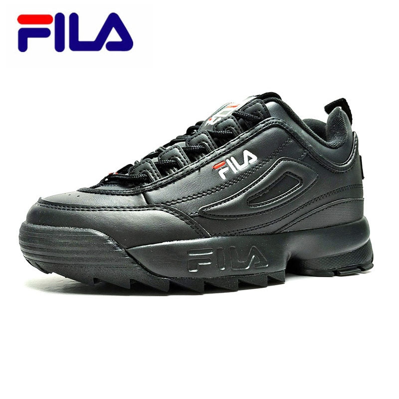 Fila Disruptor II 2 Women Sneaker Running Shoes White brown and white summer Increased Outdoor Sneaker size 36 44