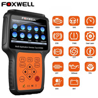 Foxwell NT650 OBD2 Auto Scanner ABS Airbag SAS EPB DPF TPMS Oil Reset Injector ODB2 Car Diagnostic Tool OBD 2 Automotive Scanner
