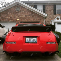 (Free Shipping US Warehouse) FRP Rear Wing Lip For 350z RB Style Glass Fiber Rear Spoiler Trim