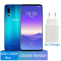 "In Stock Global Version Meizu 16s 6GB/8GB 128GB 16 s Smartphone Snapdragon 855 6.15"" 48MP Dual Camera AI Front 20MP 3600mAh NFC"