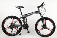 KUBEEN mountain bike 26-inch steel 21-speed bicycles dual disc brakes variable speed road bikes racing bicycle