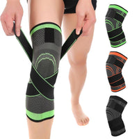 Knee Support Protective Sports Knee Pad Pressurized ElasticKneepad Breathable Bandage Knee Brace Basketball Tennis Cycling