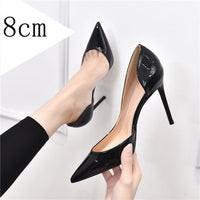 Luxury Shoes Women Designers Nude Side Pumps Shoes Red Wedding Shoes Pointed Toe 12cm Sexy High Heels Shoes Bridal Shoes Size 44