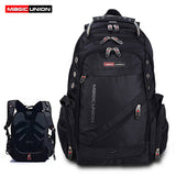 MAGIC UNION Men's Travel Bag Man Backpack Polyester Bags Waterproof Shoulder Bags Computer Packsack Brand Design Backpacks