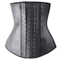 MISS MOLY Body Shaper LATEX Waist Trainer Corset Shapewear For Women Cincher Tops Plus Size Girdle Slim