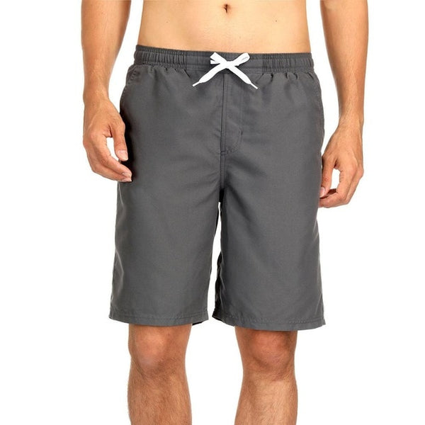 Men's Swim Trunks Quick Dry Beach Shorts Board Short Bathing Suits Swimwear with Pockets