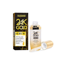Neutriherbs 24 K Gold Serum Face Serum with hyaluronic acid Care Essence Moisturize and Brightening Skin