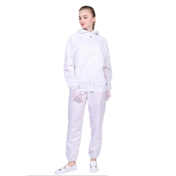New Dust-proof Protective Coveralls Reusable Medical Isolation Suit Hooded Coverall Anti-static Safely Protection Clothes