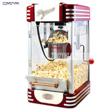 New Popcorn Machine Commercial Fully Automatic Mini Small Children's Popcorn Ball Home Package Machine 220V