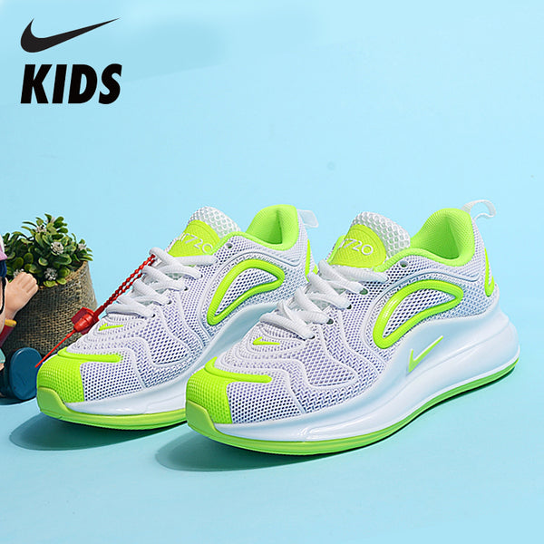 Nike Air Max 720 Kids Shoes Original New Arrival Children Running Shoes Comfortable Sports Air Cushion Sneakers #AO2924-600