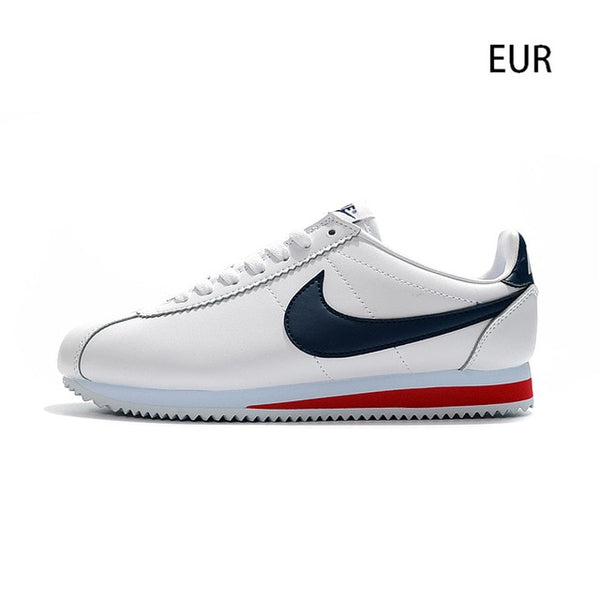 Nike CLASSIC CORTEZ LEATHER Running Shoes for Men Stability Footwear Super Light Sneakers Sport