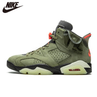 Original Air Jordan 6 Black Infrared Basketball Shoes RETRO CNY Sport Sneaker TS Green