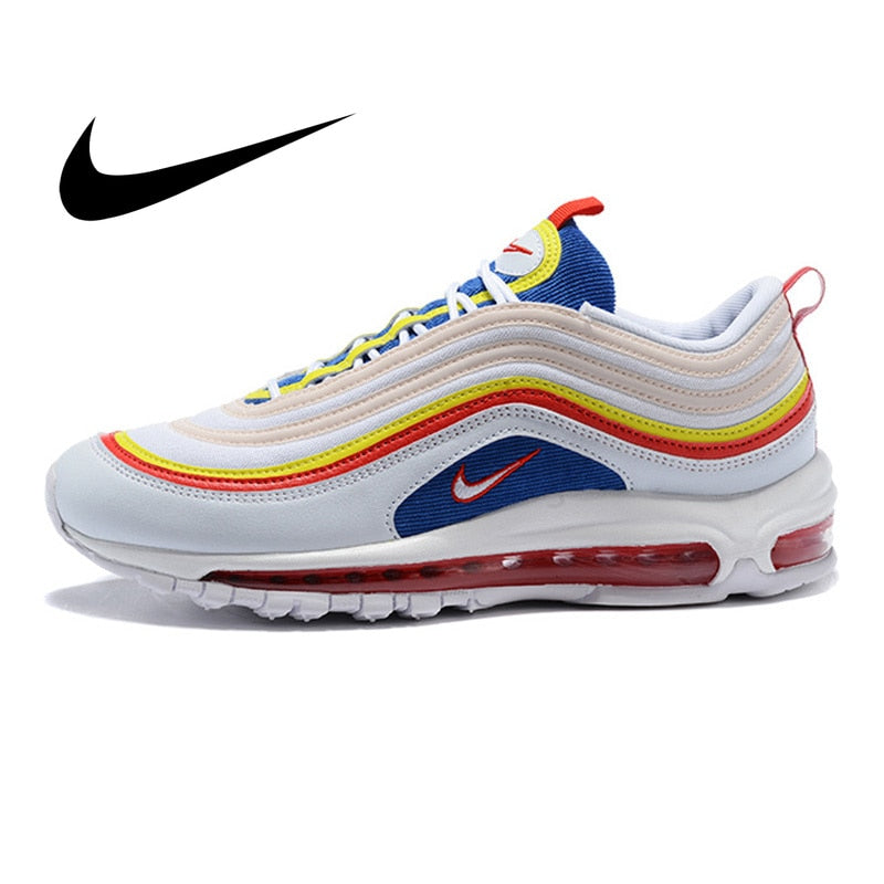 Original Authentic Nike Air Max 97 Ultra SE Women's Running Shoes Fashion Outdoor Sports Shoes Comfortable Breathable AQ4137 101