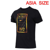 Original New Arrival 2018 NIKE DRY TEE GOLD BANNER Men's T-shirts short sleeve Sportswear