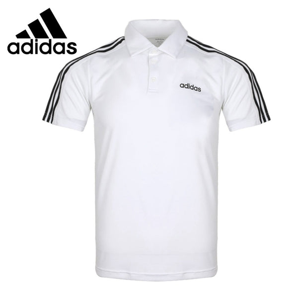 Original New Arrival  Adidas D2M 3S Polo Men's POLO  short sleeve Sportswear