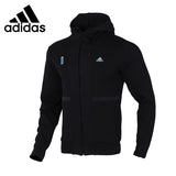 Original New Arrival  Adidas  WJ HTT Men's jacket Hooded  Sportswear