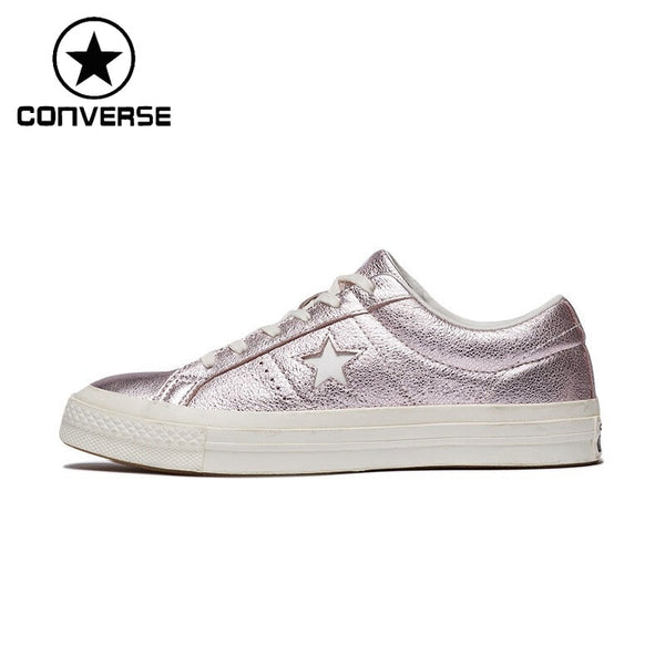 Original New Arrival  Converse One Star Women's  Skateboarding Shoes Canvas Sneakers
