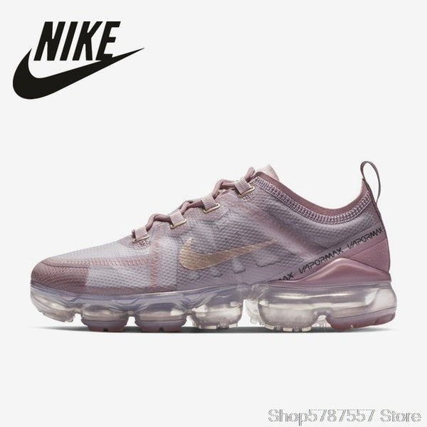 Original Nike Air VaporMax 2019 Running Shoes for Women Outdoor Sneakers Lightweight Breathable M