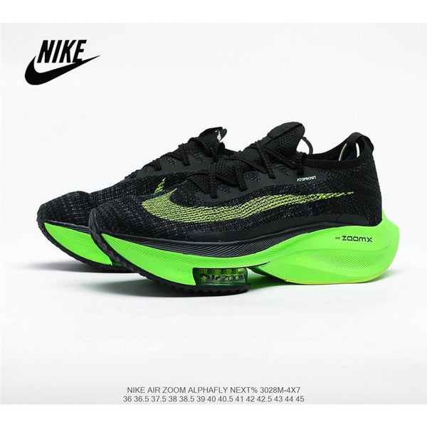 Free DHL Shipping Nike Air Zoom Alphafly NEXT air cushion uses lighter and more breathable Atomknit material men's shoes 40-45