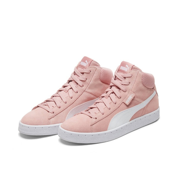 PUMA 1948 MID Men and Women Shoes Original Authentic Retro Suede Casual Skate High Leisure Pink Shoes Spring2019 New 35913821