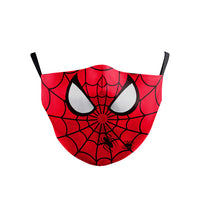 Phantasy Children Kid Dust-Proof Anti-fog Multicolor Face Mask  Marvel Superhero Cosplay Protective Mask Mouth Cover Breathable