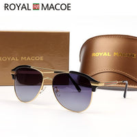 ROYAL MACOE Cat Eye Sunglasses Women Luxury Brand Arrow Sun Glasses Vintage Shades For Men Sunglass Ladies Polarized Sunglases